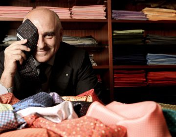 Maurizio Marinella and his ties