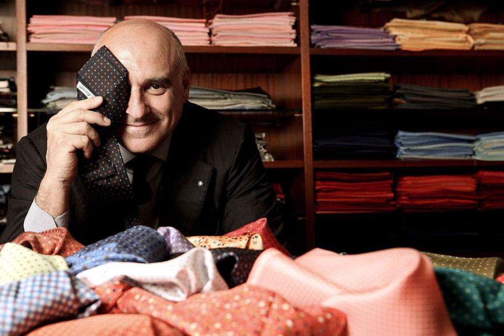 Maurizio Marinella and his ties