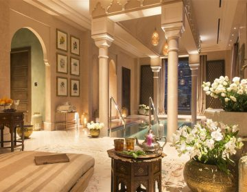 Picture of the luxury Royal Hammam Prive